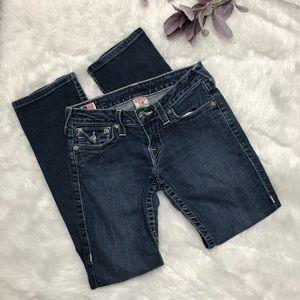 True Religion Straight Leg Jeans size 28